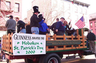 The Hoboken Saint Patrick's Day Parade